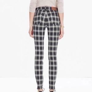 Madewell Jean High RISER Skinny Jeans 27 MSRP $158